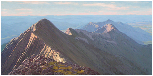 Jim Dick - Natural High - Bozeman's Bridger Mountain Ridge