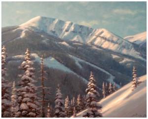 JimDick.com - Big Sky MT - Winter Afternoon Light