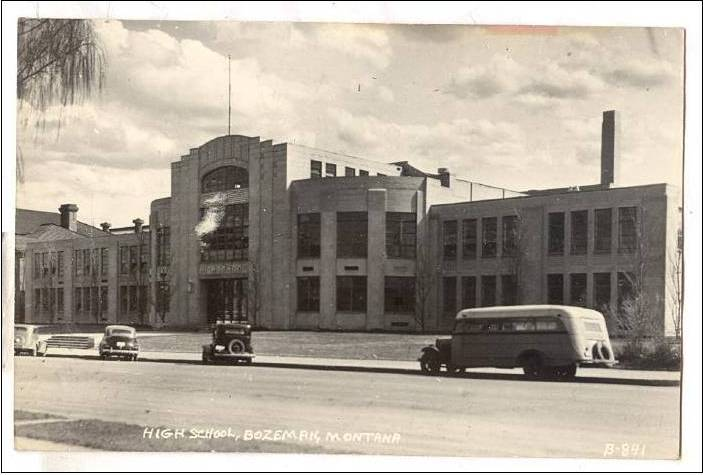 Old Main Street High School Bozeman Montana
