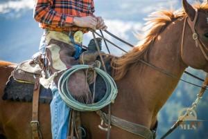 Bozeman Montana Ranch Cowboy Photo