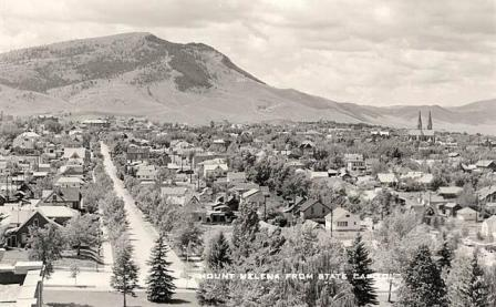 Mount Helena Montana State Capitol Building 1949