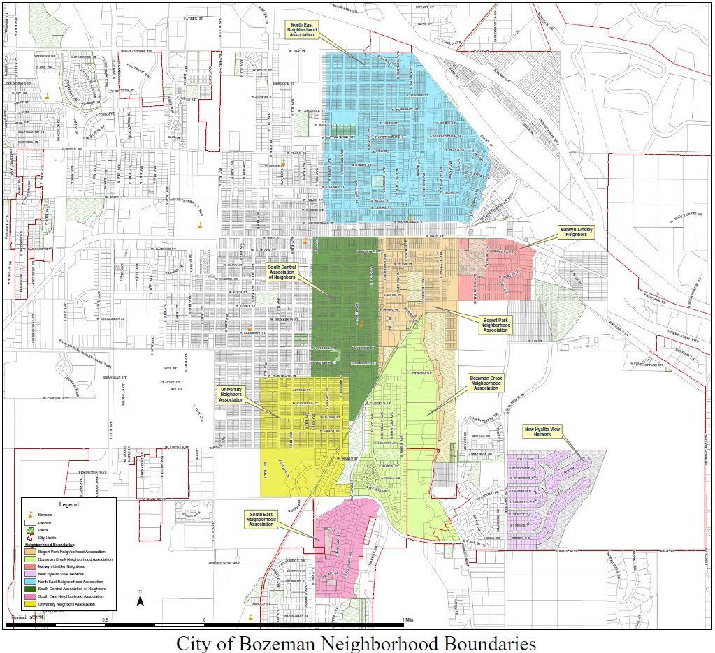 Bozeman Real Estate Search by Subdivision, Bozeman Map
