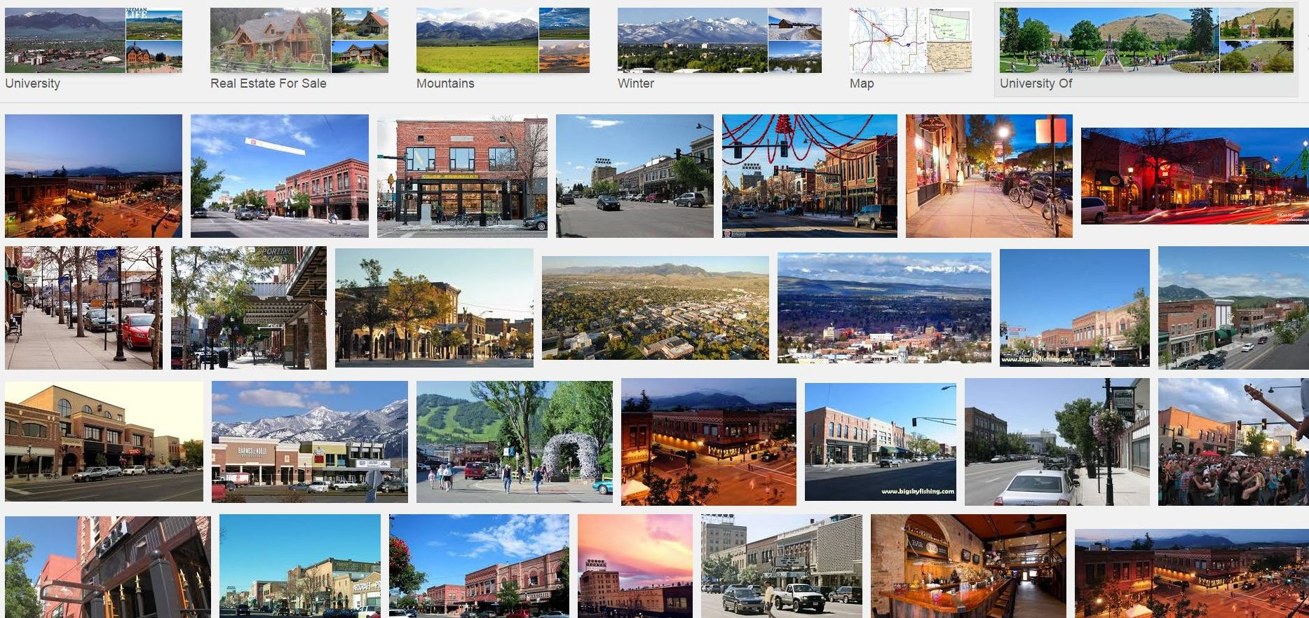 Bozeman Montana Real Estate Directory