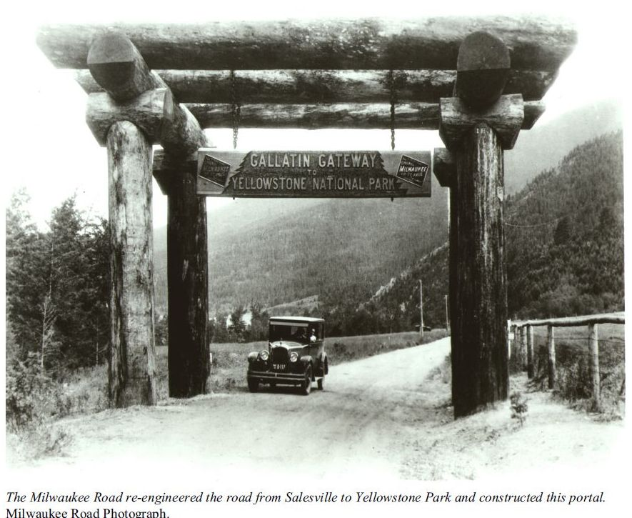 Gallatin Gateway to Yellowstone National Park Photo