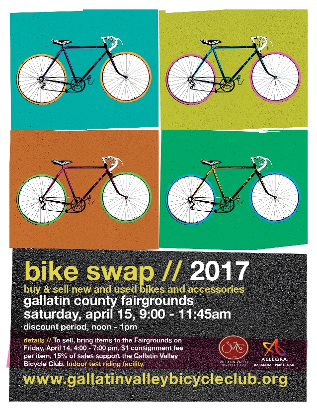 2017 Bozeman Bike Swap Gallatin Valley Bike Club