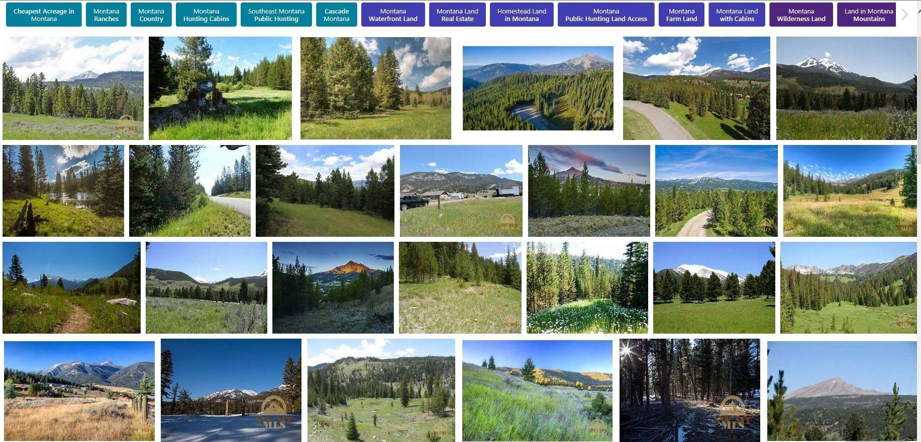Montana Land For Sale Lots Parcels Subdivision Commercial Farm