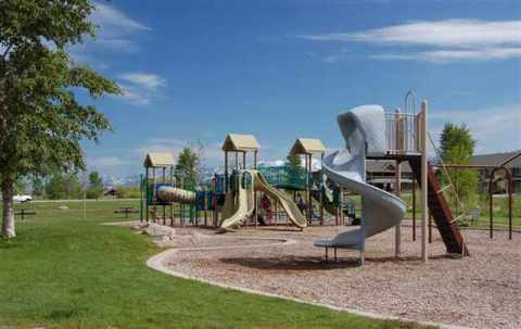 Bozeman Playgrounds Valley West Subdivision Photo