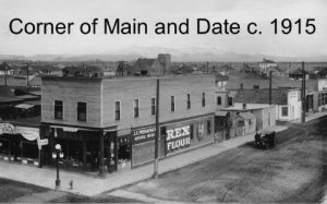 1915 Corner of Main and Date St, Three Forks, Montana