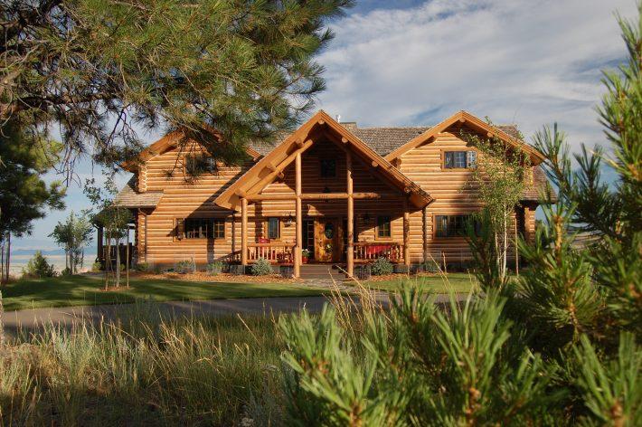 Montana Log Homes For Sale