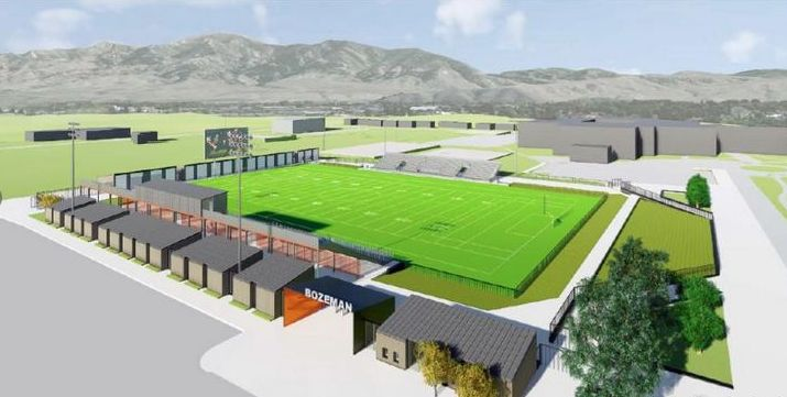 Bozeman's New High School Football Stadium