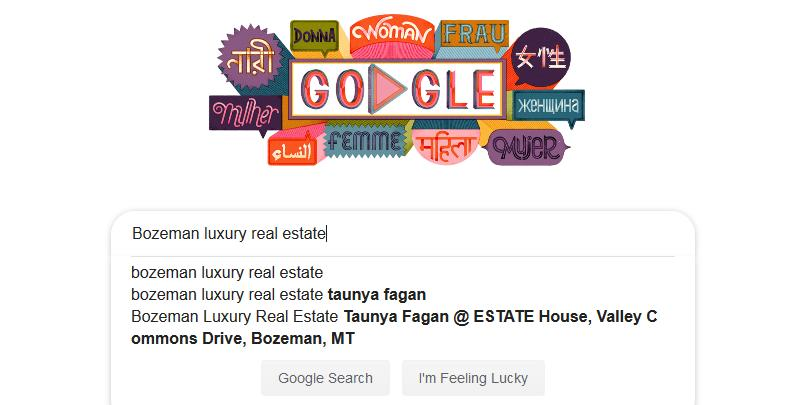 Bozeman Luxury Real Estate Taunya Fagan on Google
