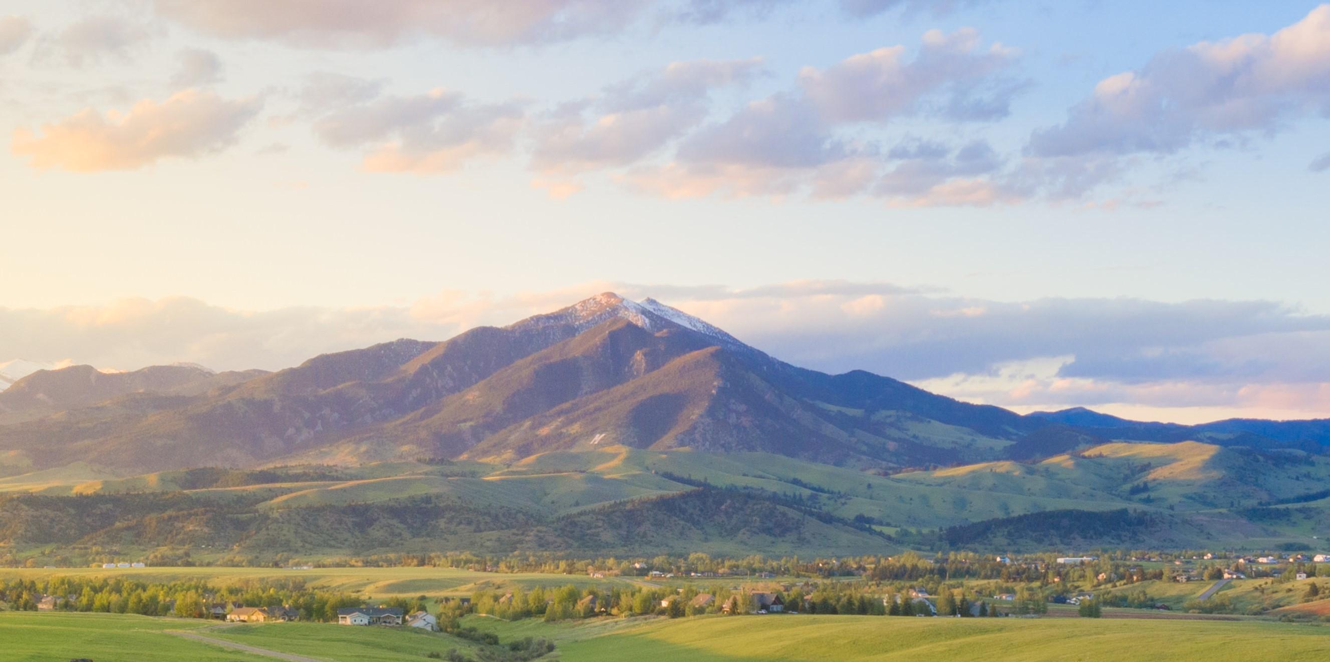 Moving to Bozeman Bridger Mountains Taunya Fagan Photo
