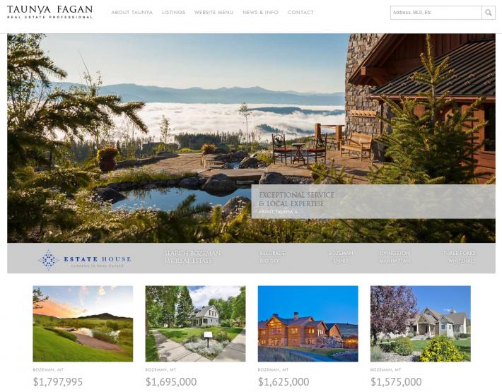 Taunya Fagan Bozeman Real Estate Home Page Photo