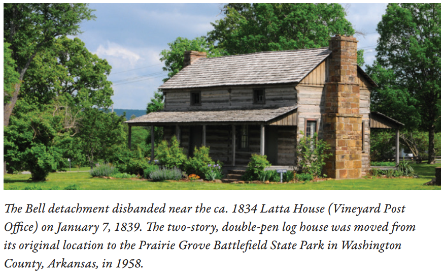 Latta Log House 1834 NPS photo