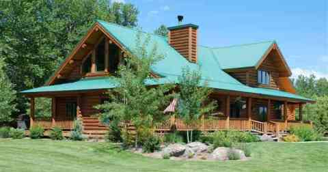 Montana Log Homes For Sale Montana Log Cabins Timberframe