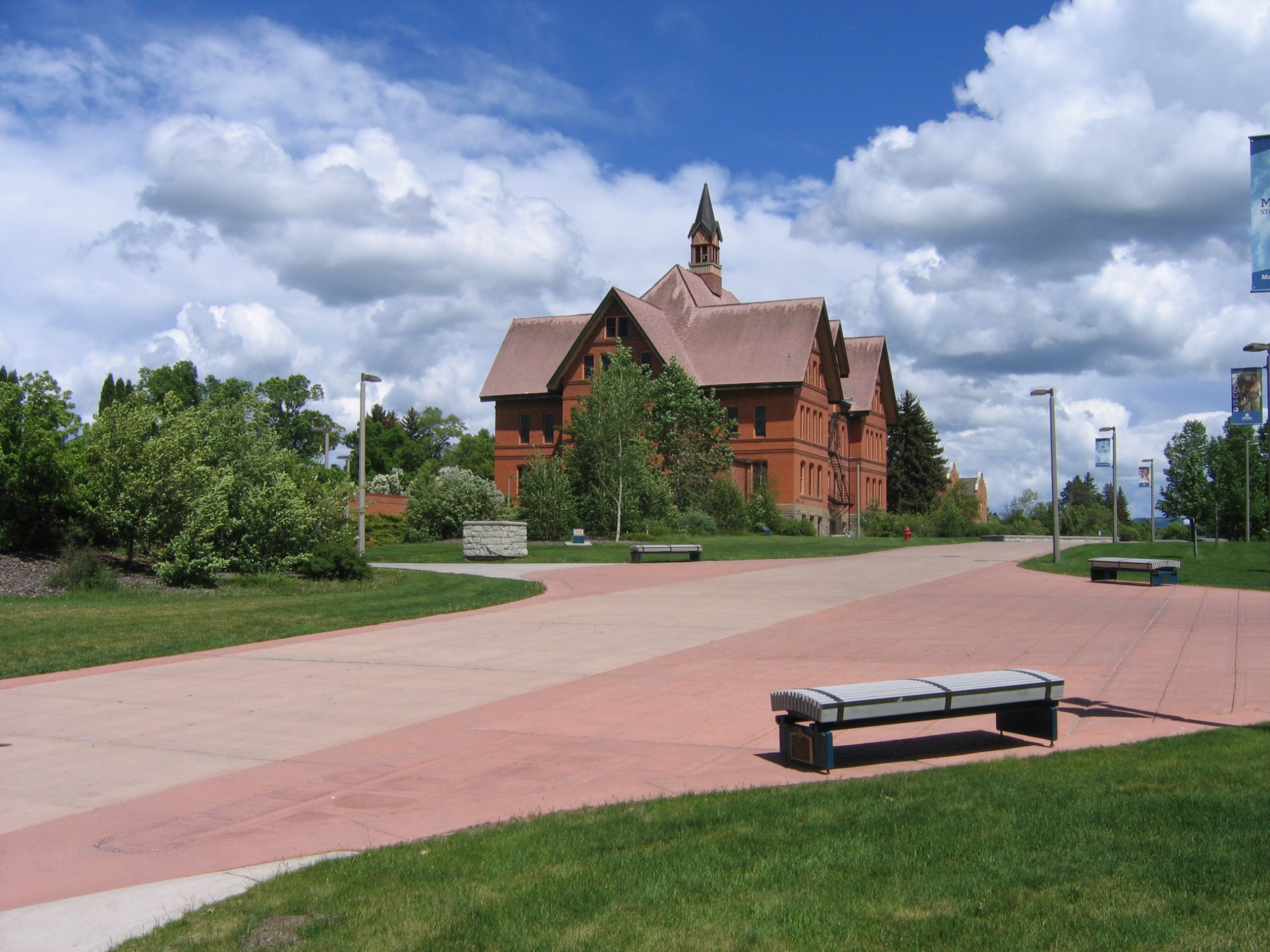 Montana Hall, Montana State University, Bozeman Photo Brett Fagan 2005