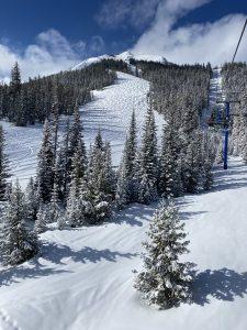 Big Sky Resort Ski Trails March 2020 © Brett Fagan 2020