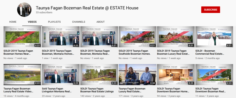 Bozeman Real Estate TV Video