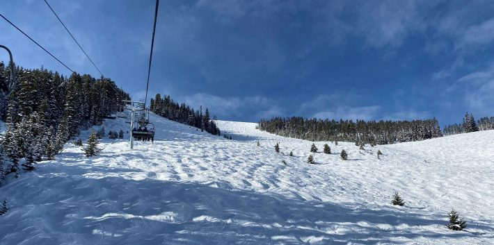 Thunder Wolf Chairlift Big Sky Condos For Sale - ©Brett Fagan 2020