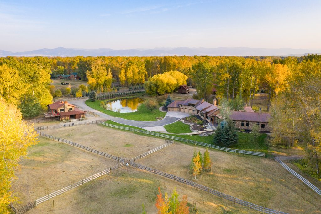 Photo Montana River and Bozeman Horse Properties For Sale Cameron Bridge Rd
