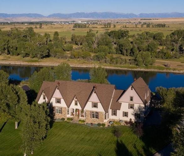Jefferson River Montana Luxury Estate 11130 Hwy 287