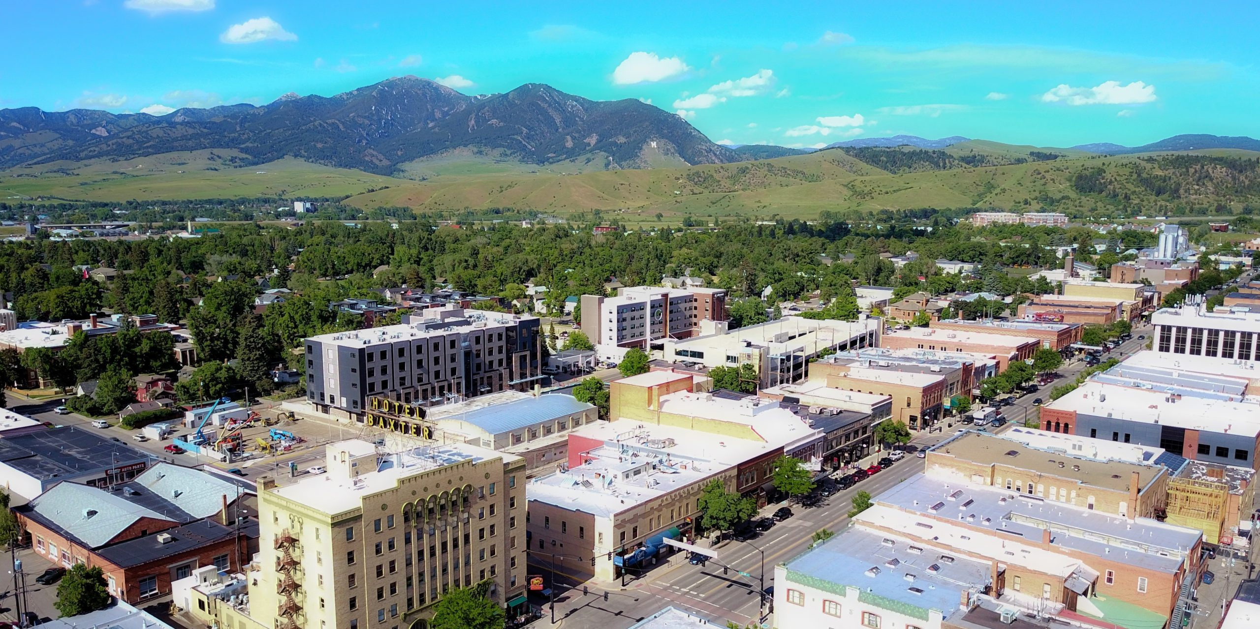 Montana Cities: South West & South Central