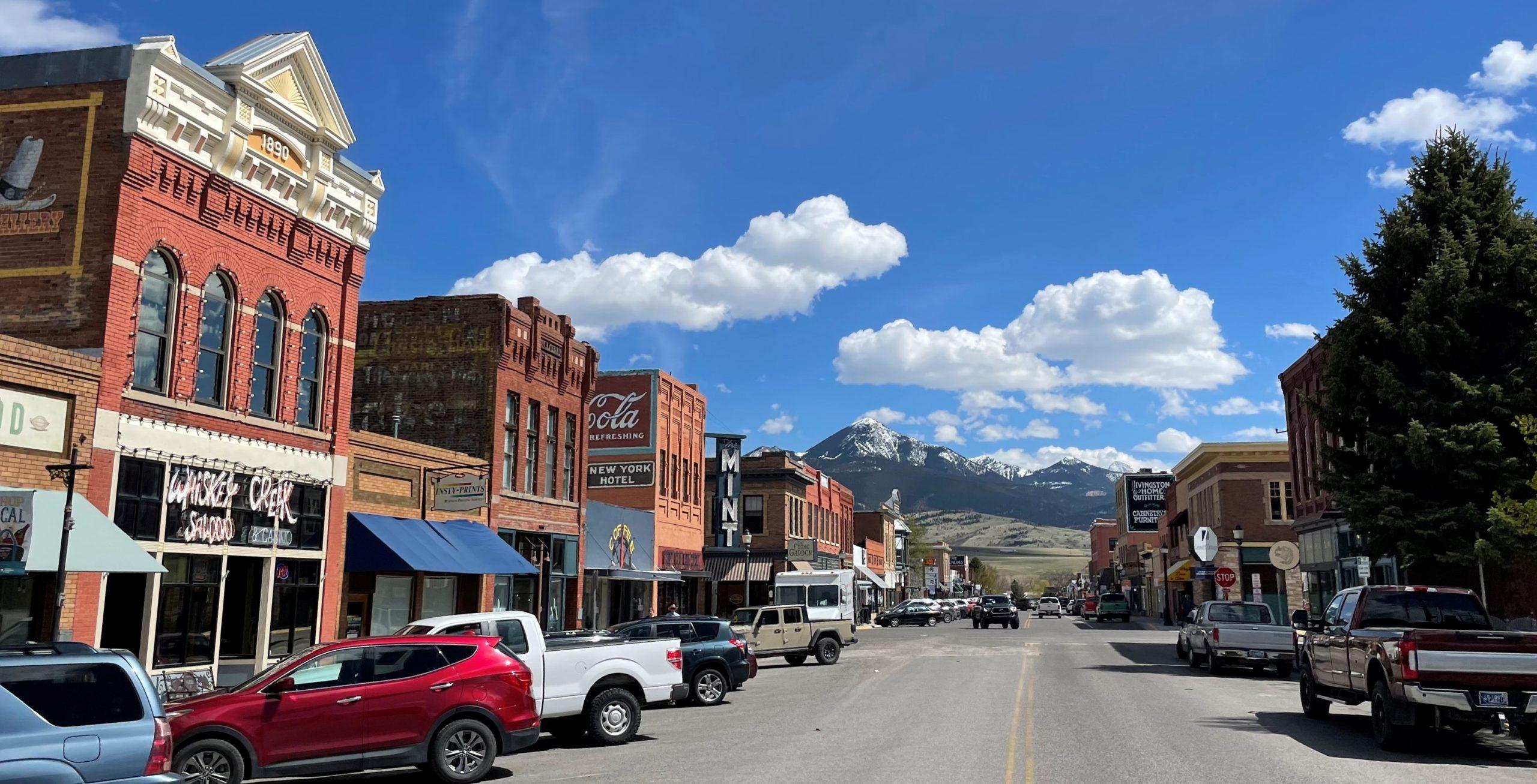 Livingston Montana History