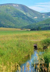 Photo Irrigation Ditch Montana Ranching History
