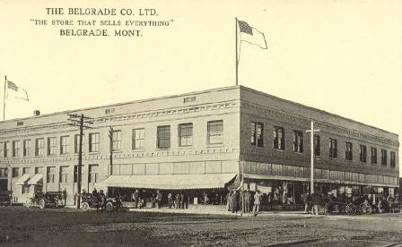 Early Belgrade Mercantile Photo
