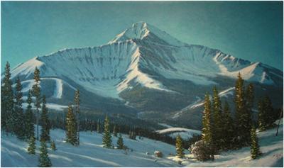 Lone Peak Big Sky Montana Jim Dick