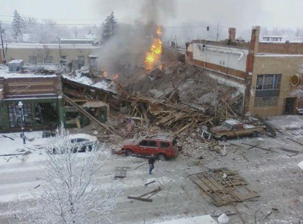Bozeman Explosion 2009 - NBC Montana